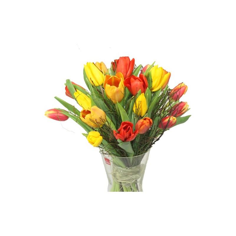 Tulpenstrauss gelb