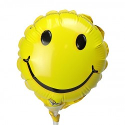 Mini-Folienballon Smiley