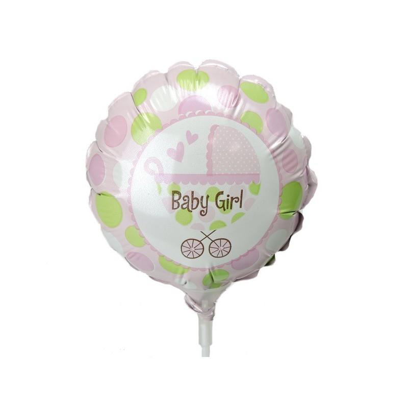 Mini-Folienballon Baby Girl