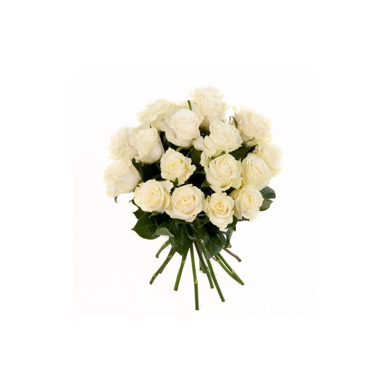 rosenstrauss mit weissen rosen im bund gemischt. Black Bedroom Furniture Sets. Home Design Ideas