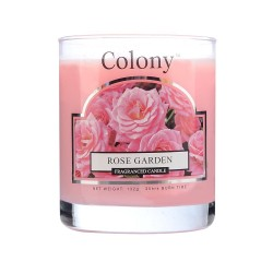 Duftkerze Glas Rose Garden