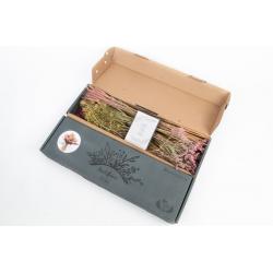 DIY Trockenstrauss Box Rosa